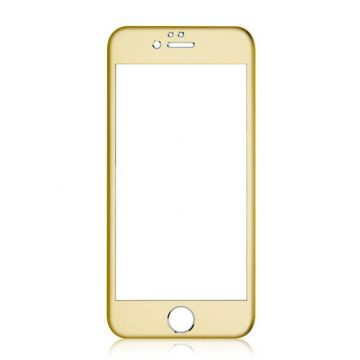 Film verre trempé contour coloré protection avant iPhone 6 Plus