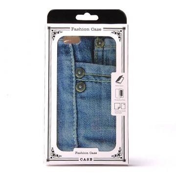 Button Jeans iPhone 6 Plus TPU Soft case