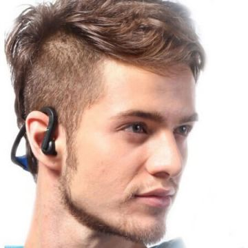 2 en 1 Ecouteurs/kit mains libres sport stéréo Bluetooth iPod iPhone
