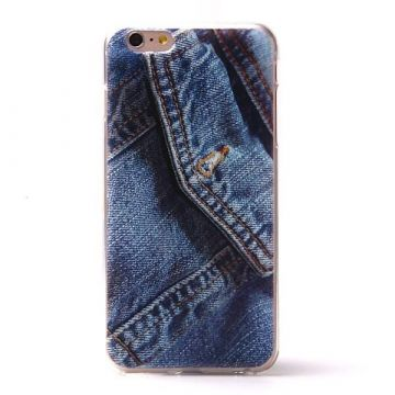 Coque souple TPU Poche Jeans iPhone 6 Plus