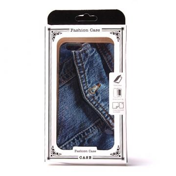 Jeans soft TPU case jeans iPhone 6 Plus hoesje