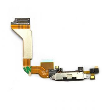 iPhone 4 dock connector compleet zwart - iphone reparatie