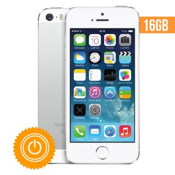 iPhone 5S - 16 GB Silver refurbished - Grade A