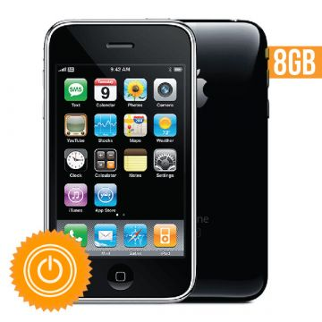 iPhone 3GS - 8 Go Black refurbished
