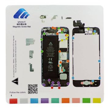 magnetic Screw Hole Distribution Board iPhone 5