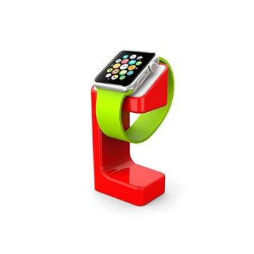 Station de charge e7 stand rouge pour Apple Watch 38/42mm