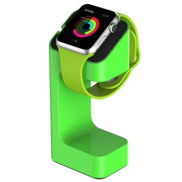 Station de charge e7 stand vert pour Apple Watch 38mm et 42 mm