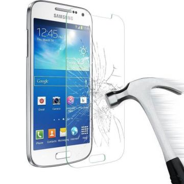 Tempered glass screenprotector Samsung Galaxy S4 Mini - samsung accessoires