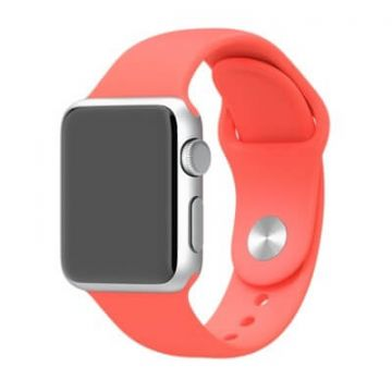 Orange red Apple Watch 40mm & 38mm Strap
