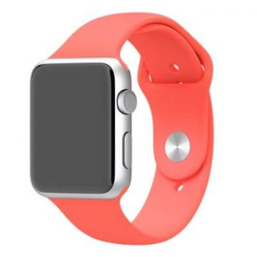 Bracelet Apple Watch 42mm Rouge