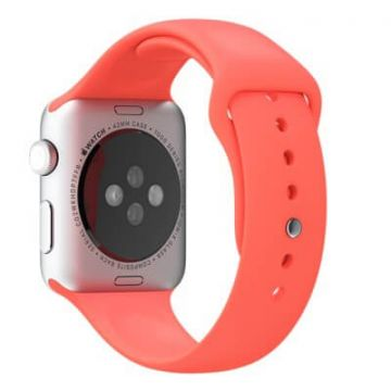 Red Apple Watch 42mm Strap