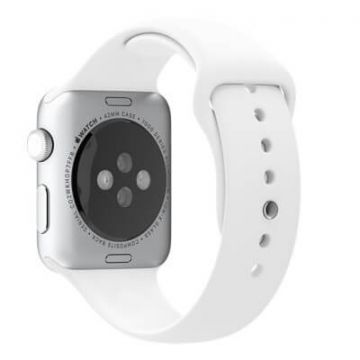 White Apple Watch 42mm Strap S/M M/L