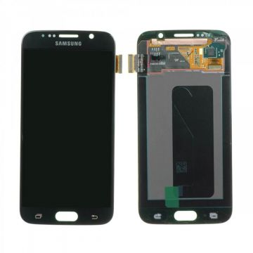 Original quality complete screen for Samsung Galaxy S6 in black