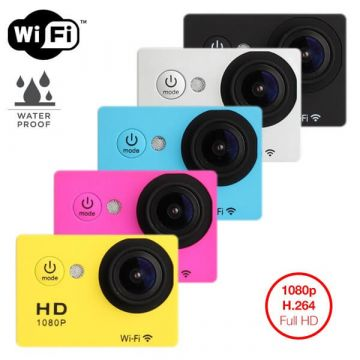 Waterproof Full HD camera with wifi