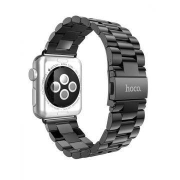 Bracelet Gris Premium acier inoxydable HOCO Apple Watch 38 mm