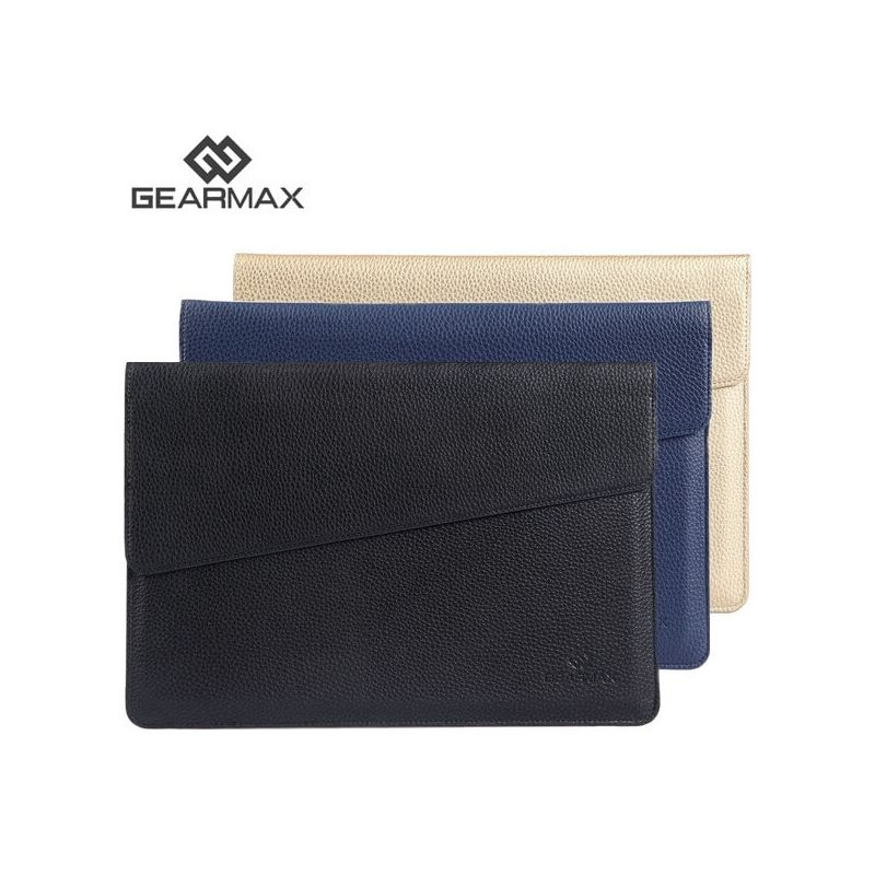 Gearmax ultra thin sleeve macbook air 13 leather case for Housse macbook 12