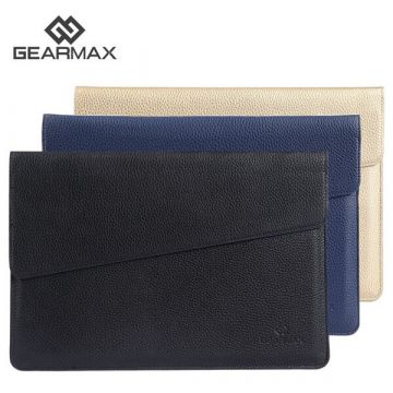 "Gearmax Ultra-Thin Sleeve MacBook 12"" Leather Case"