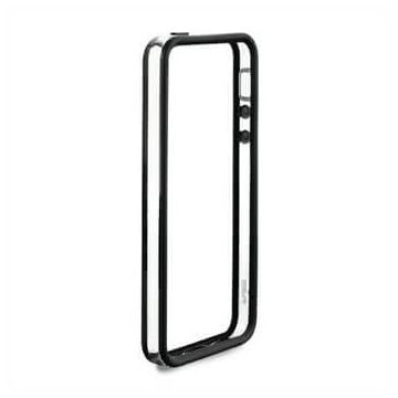 TPU Bumper Black and Transparent for iPhone 5C