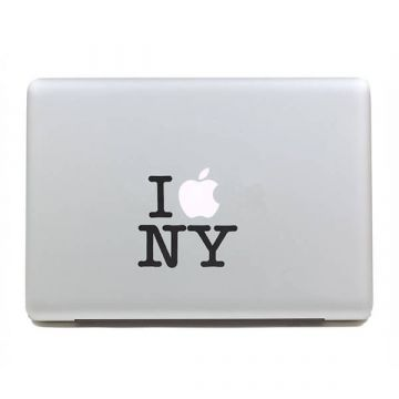I Love NY MacBook Sticker
