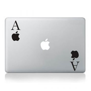 Sticker MacBook Ace of Apple