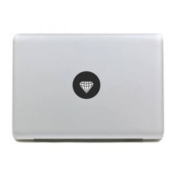 Diamant MacBook sticker