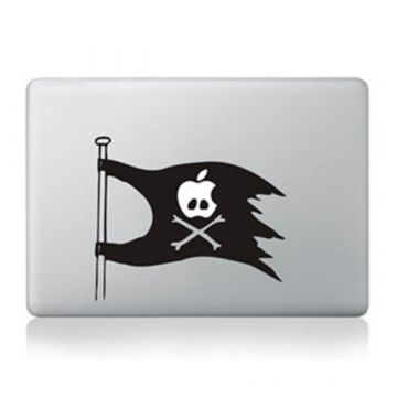 Sticker MacBook Drapeau pirate