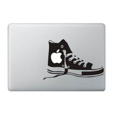 Converse schoenen MacBook sticker