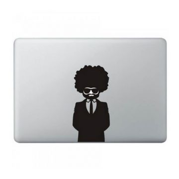 Afro MacBook Sticker