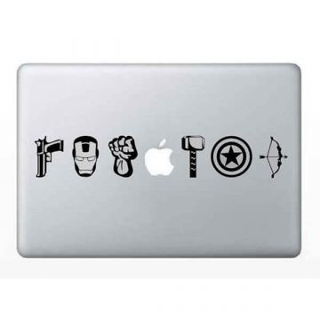 Sticker MacBook Avengers