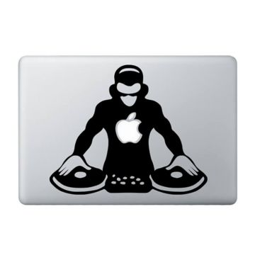 DJ MacBook Sticker