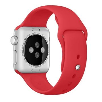 Bracelet Apple Watch 44mm & 42mm Rouge S/M et M/L