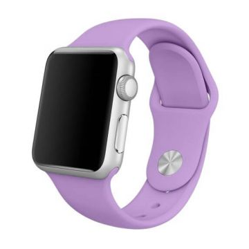 Lavendel paars siliconen bandje Apple Watch 42mm S/M M/L