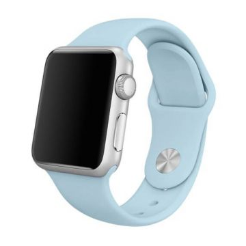 Turquoise siliconen bandje Apple Watch 42mm S/M M/L