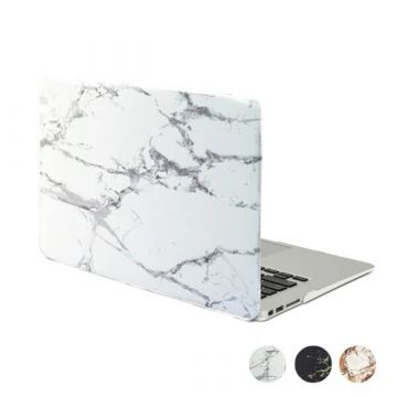 Coque soft touch style marbre MacBook Retina 15""