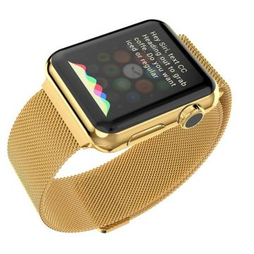 Hoco goud milanees bandje Apple Watch 42mm