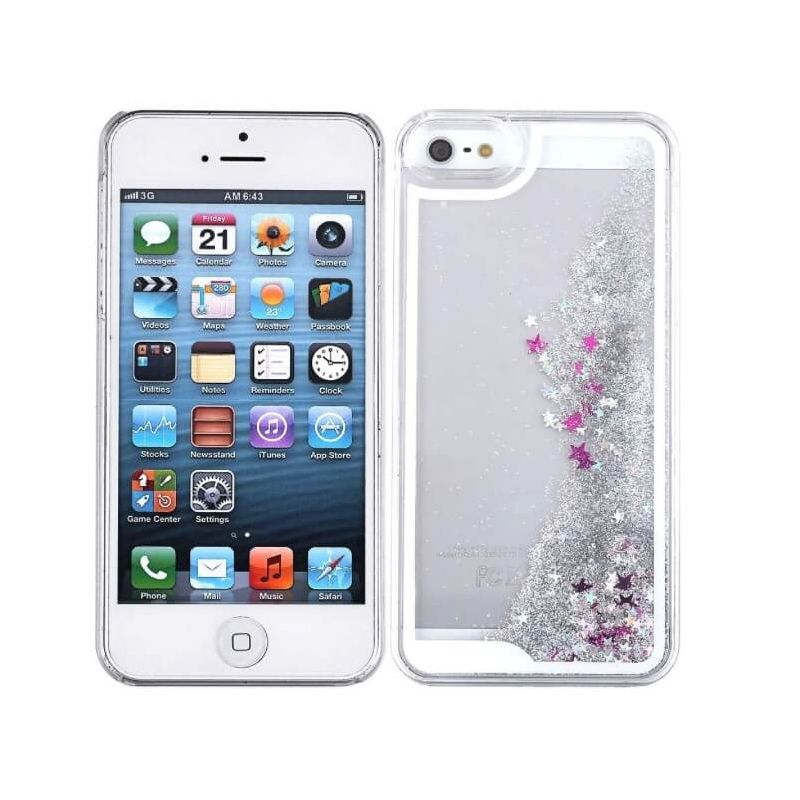 Hard Case stars and glitter for iPhone 5 5S