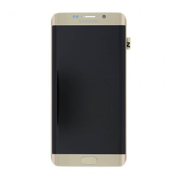 Original quality complete screen for Samsung Galaxy S6 Edge Plus in gold