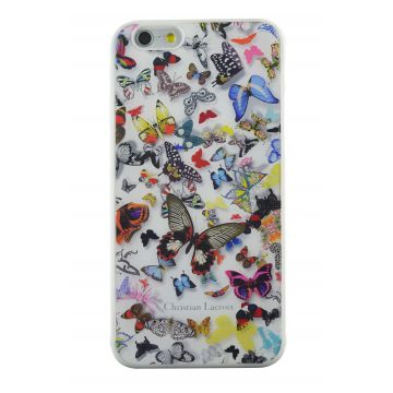 Coque Christian Lacroix Butterfly Parade iPhone 6/6S Blanc