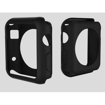 Coque Silicone Colorée Apple Watch 38mm