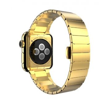 Hoco gouden schakel armband Apple Watch 42mm