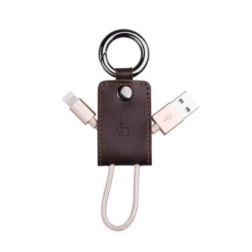 Hoco sleutelhanger USB lightning kabel iPhone iPod iPad