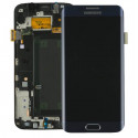 Original quality complete screen for Samsung Galaxy S6 Edge in black