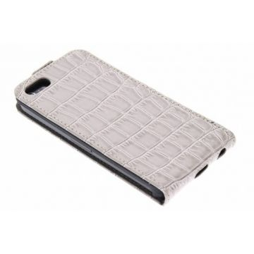 Guess Beige Croco Flapcase iPhone 5/5S/SE