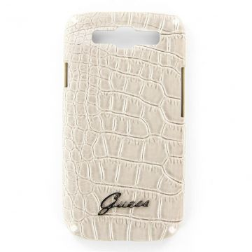 Coque Croco Beige Guess Samsung Galaxy S3