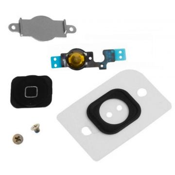 Zwarte home button kit iPhone 5C