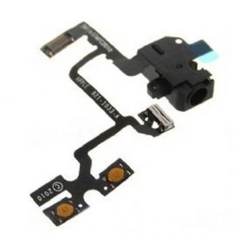 Modul-Jack Audio en Volume iPhone 4 Zwart