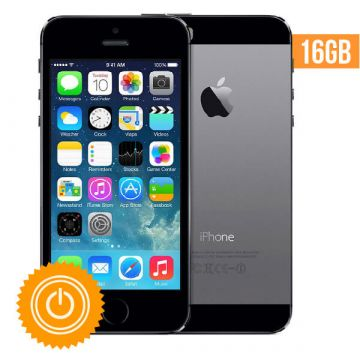 iPhone 5S - 16 GB Space gray refurbished - Grade C