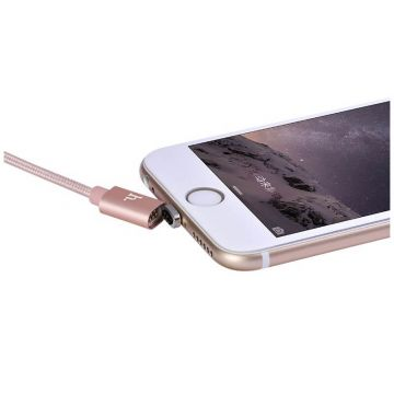 Hoco Magnetic Lightning Braided Cable