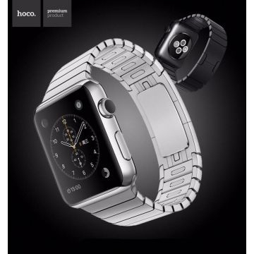 Bracelet à maillons Premium Hoco Apple Watch 44mm & 42mm Acier