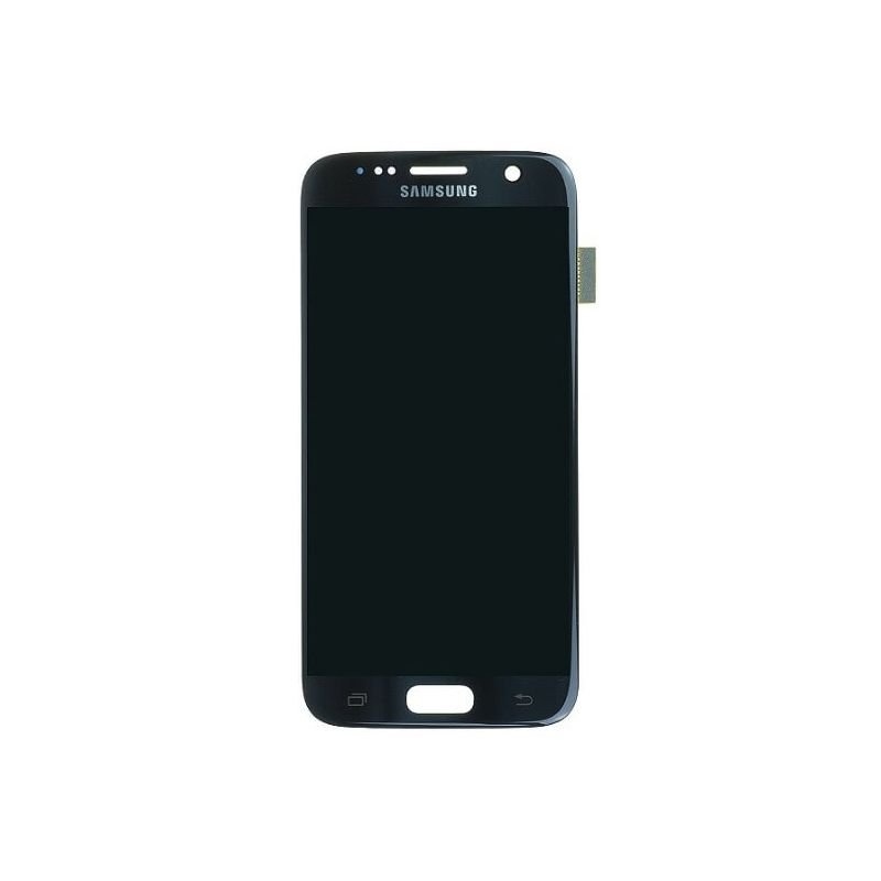 Original quality complete screen for Samsung Galaxy S7 in black